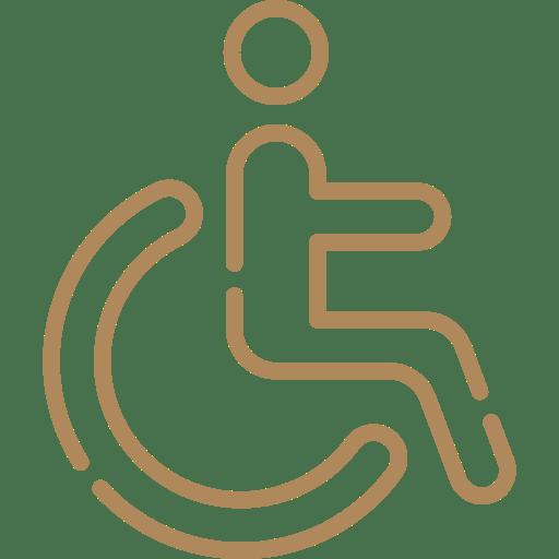 accès handicapés ok