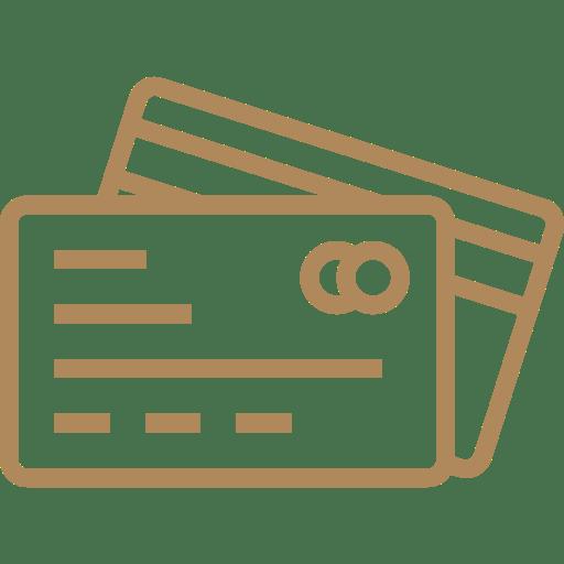 carte de crédit acceptées